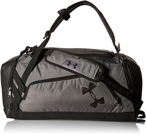 Under Armour Storm Undeniable Backpack Duffle Bag  Medium, Graphite /Black, One Size Fits All