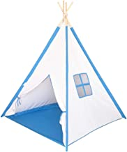 Kids Play Teepee Tent Children Playhouse Tent for Toddler Girls and Boys Indoor Outdoor Fun