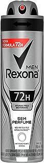 Desodorante Antitranspirante Rexona Masculino Aerosol sem Perfume 150Ml