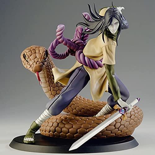 NARUTO-ナルト-アニメアクションフィギュア:大蛇丸15cm /5.9inキャラクターモデルPVC アート玩具やパーティー用品に適しています,Naruto