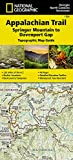 Appalachian Trail, Springer Mountain to Davenport Gap [Georgia, North Carolina, Tennessee] (National Geographic Topographic Map Guide, 1501)