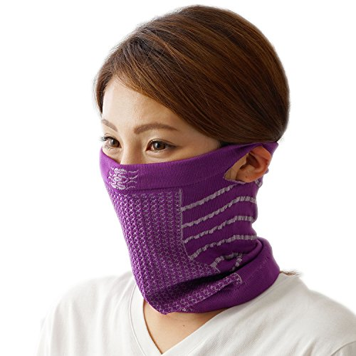 eproduct フェイス マスク バンダナ ニット帽 改良版 男女兼用 UV 紫外線カット 呼吸楽 防寒 スキー ボード...