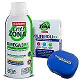 Enerzona Omega RX 3 240 cpr + Enerzona polifenoli + Portapillole