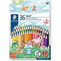 Staedtler-144 ST Caja con 36 lápices de colores, Multicolor, (144 ND36)