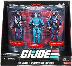 GI Joe Senior Ranking Officers: Cobra Commander, Officer, & Trooper