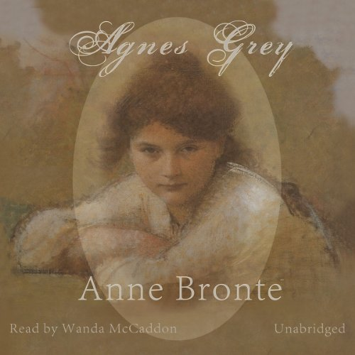 Agnes Grey audiobook cover art