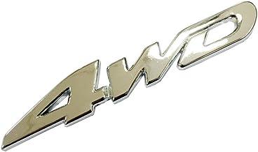 Turbo Silver Wire Drawing Metal Sticker Car Auto Vehicle Badge Emblem Dian Bin