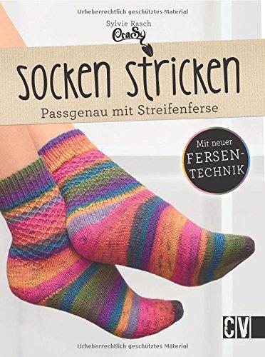 Socken stricken: Passgenau mit Streifenferse