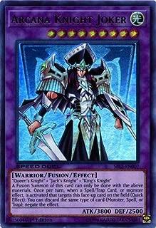 Yu-Gi-Oh! - Arcana Knight Joker - SBLS-EN007 - Ultra Rare - 1st Edition - Speed Duel Decks - Arena of Lost Souls