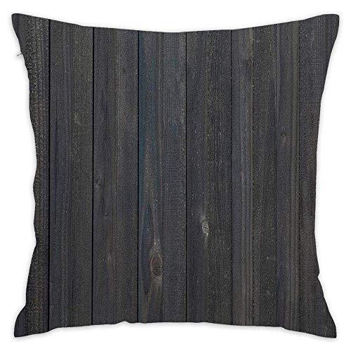 45x45CM Fundas de Almohada Gracioso, eWood valla textura áspero rústico resistido Transpirable Suave Fundas de Cojín del Coche para Sofá Cama