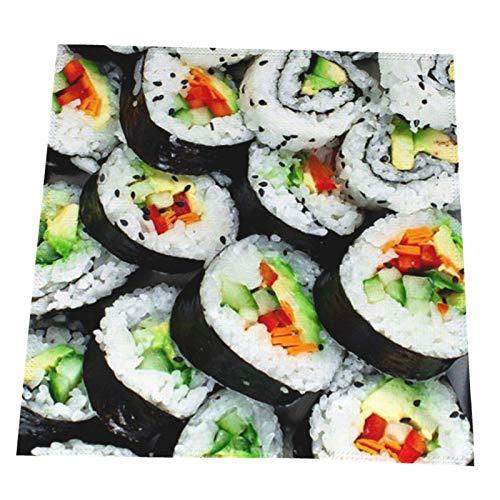 BINLAN Paño de servilletas de Mesa Lavable de Sushi para Restaurante