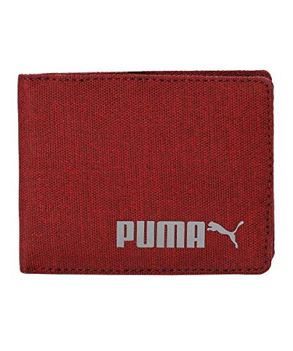 PUMA Bi-Fold Wallet IND I Chinese Red, X