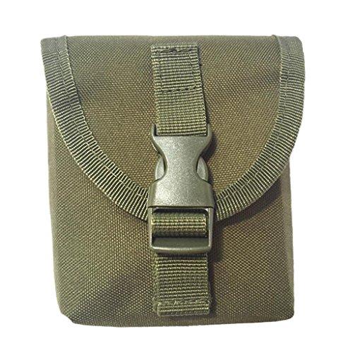 perfeclan Softblei Tasche Ersatz Bleitasche für Taschenbleigurt - Armeegrün