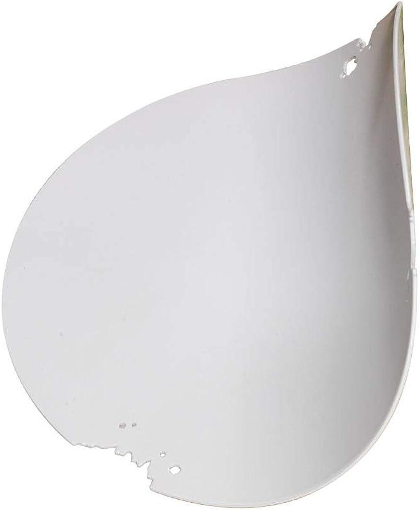 Karman va-lentina,lampada led,da parete, a forma di foglia bianca,in alluminio AP115OB INT