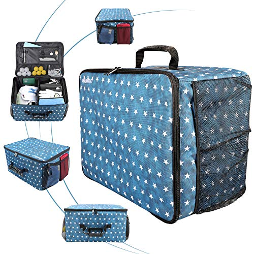 Champkey Golf Trunk Organizer Storage, Portable and Foldable Golf Travel Storage Locker Ideal for Travel Golf and Car Golf (USA)