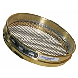 Advantech Brass Test Sieves, 8' Diameter, #5 Mesh, Full Height