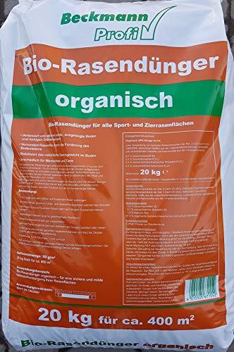 Beckmann Bio-Rasendünger NPK 9+3+6 organisch 20 Kg
