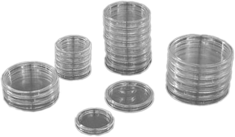 producto de calidad PRINZ 2600-1-100.7 2600-1-100.7 2600-1-100.7 Münzkapseln, 50 mm Durchmesser, 100 Stück  marca de lujo