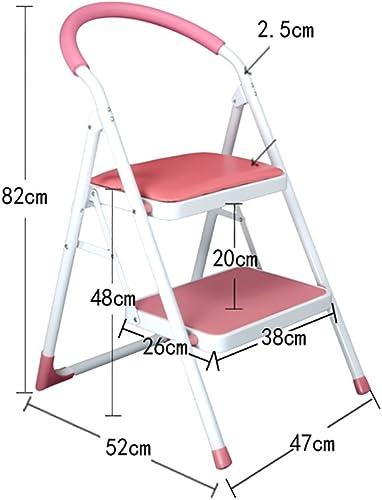 CHD - échelle télescopique Convient aux adultes et aux enfants en formation échelle pliante avec poignée échelle portable intérieure   repose-pieds   support de rangeHommest   support de fleurs - escabea