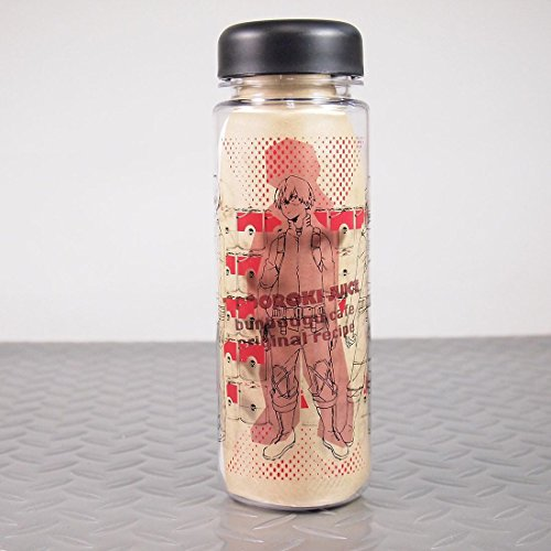 僕のヒーローアカデミア 轟焦凍 リユースボトル 32mm限定缶バッジ レシピ付き 文房具カフェ ヒロアカ グッズ