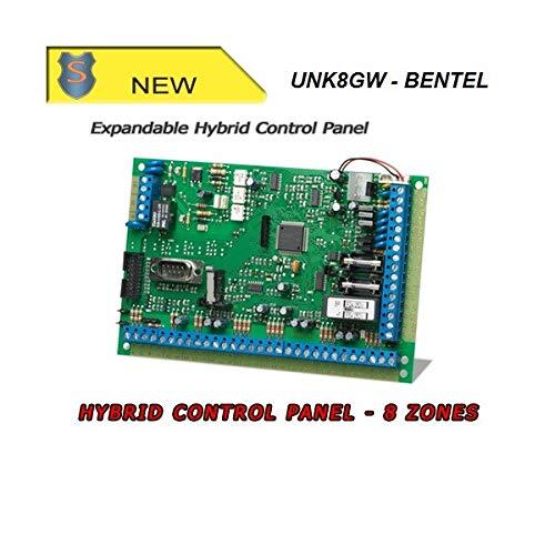 Bentel Security - Hybrid-Alarmzentrale - 8 Zonen - Stromversorgungsklemmen - KYO8GW - UNK8GW
