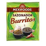 Mexifoods Sazonador Burritos - 7 Paquetes de 30 gr - Total: 210 gr