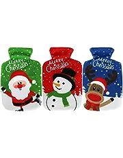 com-four® Calentador de Bolsillo Christmas, Calentador de Manos con Diferentes Motivos navideños