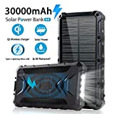 Best Solar Chargers - Solar Power Bank 30000mAh, Solar Charger, Qi Wireless Review