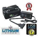 B01LWD18QI Batterie au lithium 12V LiFePO4 pour chariot de golf 18–27trous