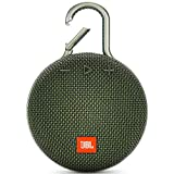 JBL Clip 3 Waterproof Portable Bluetooth Speaker - Green