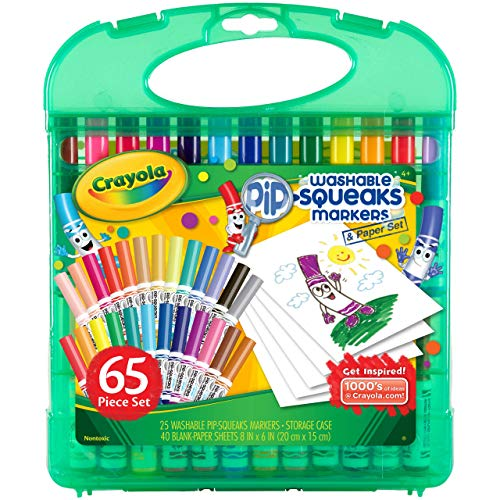 Crayola - 04-5227-E-000 - Mallette De Mini Feutres À Colorier - Lavables