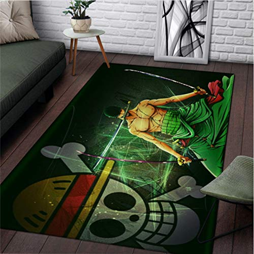 KegamiMisa Kids rug Anime Carpet Fashion One Piece rug Home Bathroom Outdoor Camping Mat Boys Picnic Travel Rugs 240X320Cm