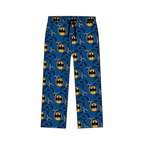 F4S - Pantalones de pijama para hombre, talla grande, diseño de Star Wars/Marvel Comics Batman Superman, supersuaves, 100% algodón, tallas S-XL