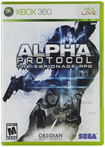 SEGA Alpha Protocol, Xbox 360 Xbox 360 vídeo - Juego (Xbox 360, Xbox 360, RPG (juego de rol), M (Maduro))