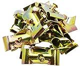 Systafex® 10 Stück Mobilzaun Bauzaun Schelle Verbindungschelle Klemme für Baustellenzaun Absperrzaun