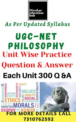 UGC NET Philosophy Practice Sets/ Unit Wise Question Answer In Each Unit Include 300 Practice Q & A Total 3000 + Practice Question Answer : All 10 Units Expected Question Answer Covered