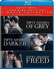 Fifty Shades: 3-Movie Collection (3 Blu-Ray) [Edizione: Stati Uniti] [Italia] [Blu-ray]