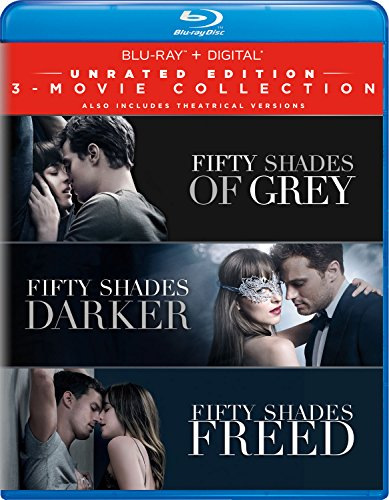 Fifty Shades: 3-Movie Collection Unrated Edition Blu-ray + Digital