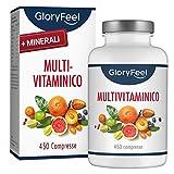 Integratore Multivitaminico e Multiminerale   450 Compresse (Scorta per 1+ Anno)   Vitamine...