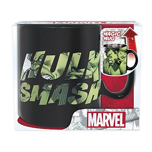 Unbekannt Marvel Comics Hulk Smash - Taza térmica (cerámica, 460 ml), diseño de Dont Make Me Angry