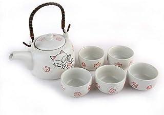 lachineuse Service à THé Maneki Neko - Le Chat Japonais Porte Bonheur