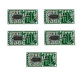 HALJIA Módulo sensor de movimiento por microondas RCWL-0516, interruptor de inducción, de alta sensibilidad larga distancia, amplio ángulo de detección de objetos y cuerpos humanos, para Arduino