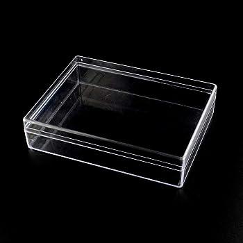 heacker 10pcs Multifuncional Rectangular de plástico Transparente ...