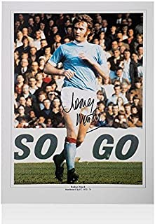 Rodney Marsh Signed Photo - Manchester City Autograph - Autographed Soccer Photos