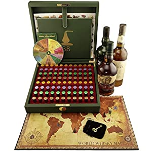 Master Whisky Aroma Tasting Kit - 88 aromas (game board included)