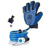 Moradiya fresh (LABEL) Multi-Functional Elastomer silicone ABS Nylon PVC Pet Bath Massager, Shower...