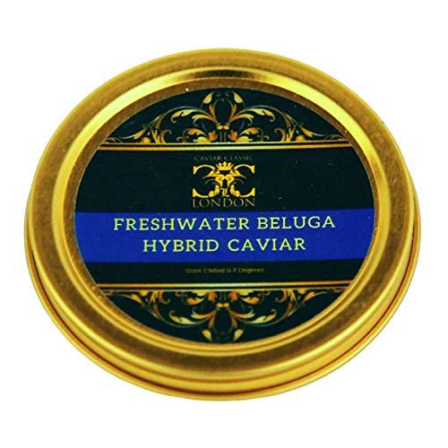 'Customers Favorite'. 30 Gram Freshwater Beluga hyb. Caviar (Our Most...