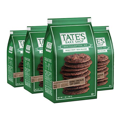 Tate s Bake Shop Double Chocolate Chip Cookies, 4 - 7 oz Bags