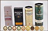 "Set""Travel of Scotch Whisky"" - 4 schottische Single Malt Whisky"