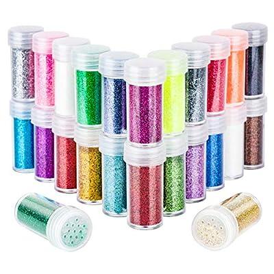 24 Colors Body Glitter